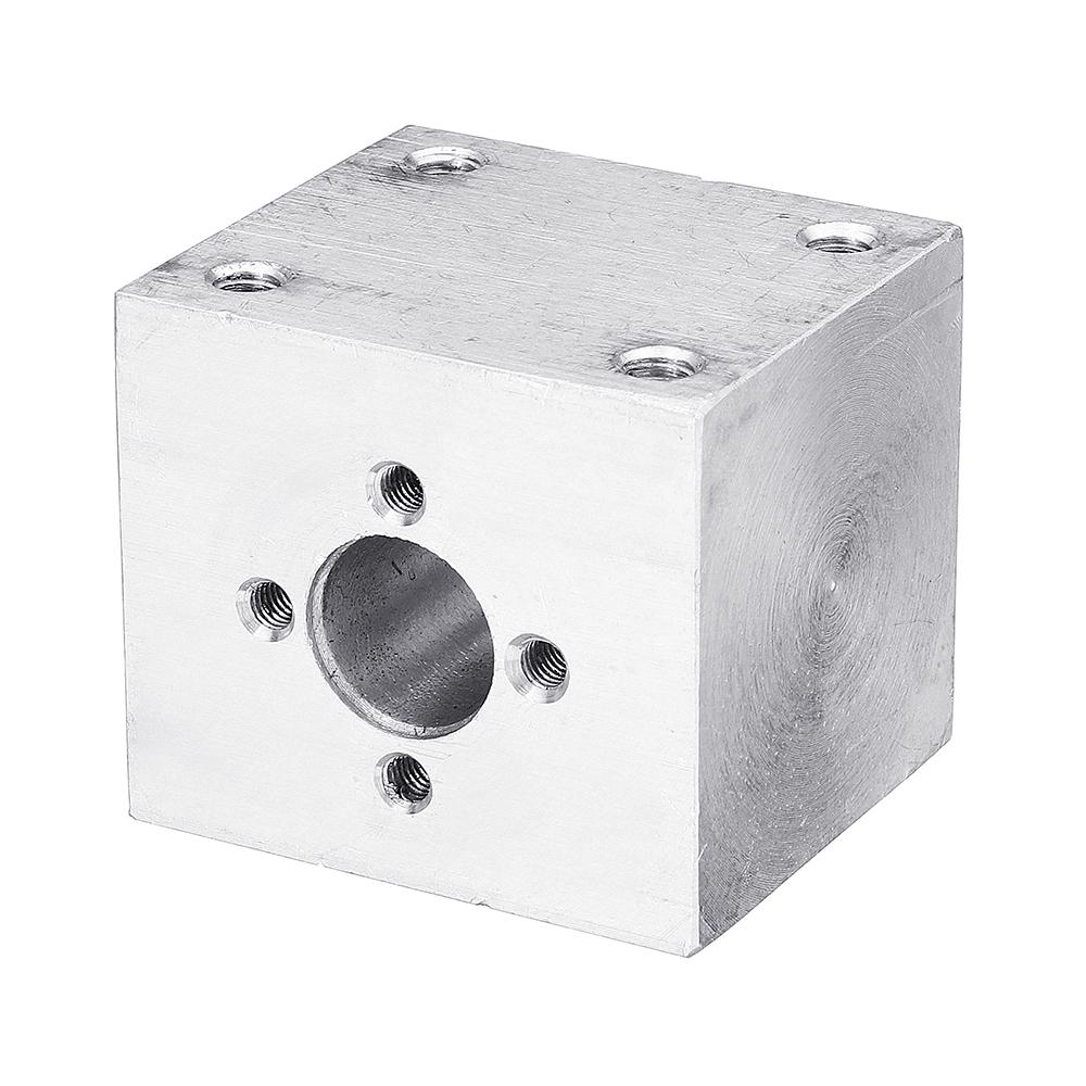T8 Aluminum Screw Conversion Nut Seat for 3D Printer Lead Screw Housing Mounting Bracket