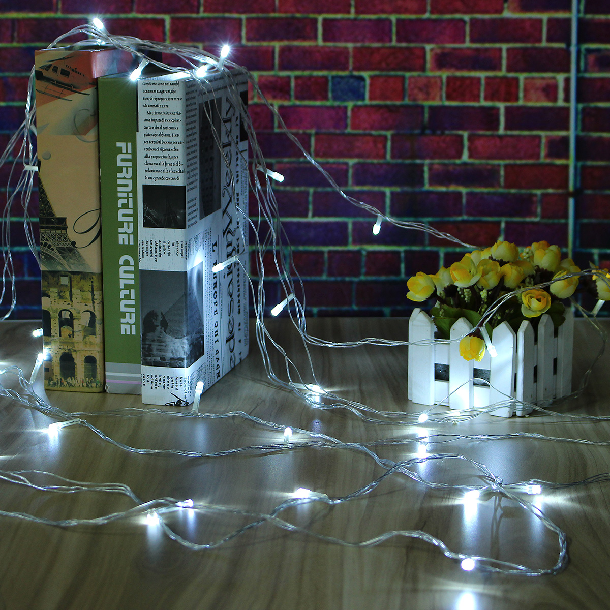 AC220C AU Plug 8 Modes 10M 100 LED Fairy String Light Christmas Party Holiday Decor Waterproof