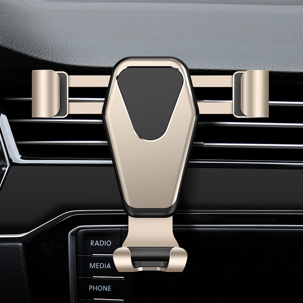 Cafele Car Air Vent Outlet Phone Holder Gravity Linkage Support Bracket 360 Rotation Universal