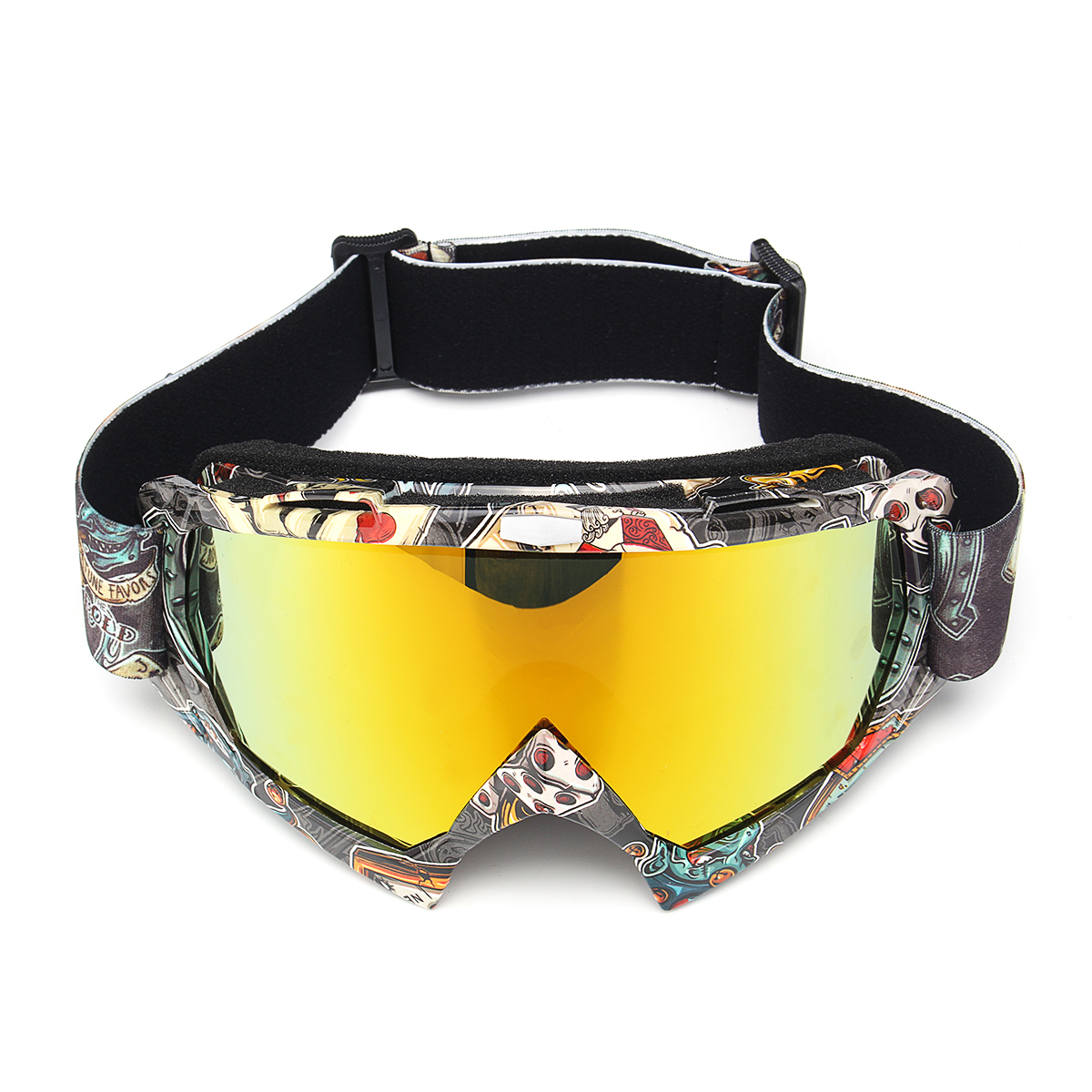 Motorcycle Goggles Windproof Racing Skiing Outdoor Sport Glasses TYF336-ZY04