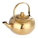 Stainless Steel Tea Pot Kettle Removable Infuser Filter Tea Pot 14/16/18/20cm