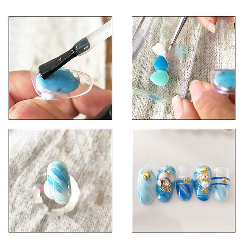 10ml Nail Gel Polish DIY Nail Art Design Soak Off UV Gel Long Lasting