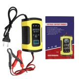 12V 5A Pulse Repair Charger with LCD Display Battery Charger Lead Acid AGM GEL WET Battery Charger