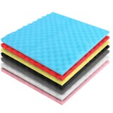 Acoustic Foam Panel Music Soundproof Foam Absorption Treatment Egg Shape 50x50x3cm