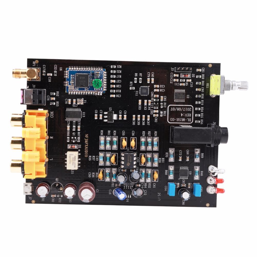 FX-Audio BL-MUSE-03 Bluetooth 4.2 CSRA64215 Audio Receiver DAC Decoding Lossless MINI HiFi Amplifier