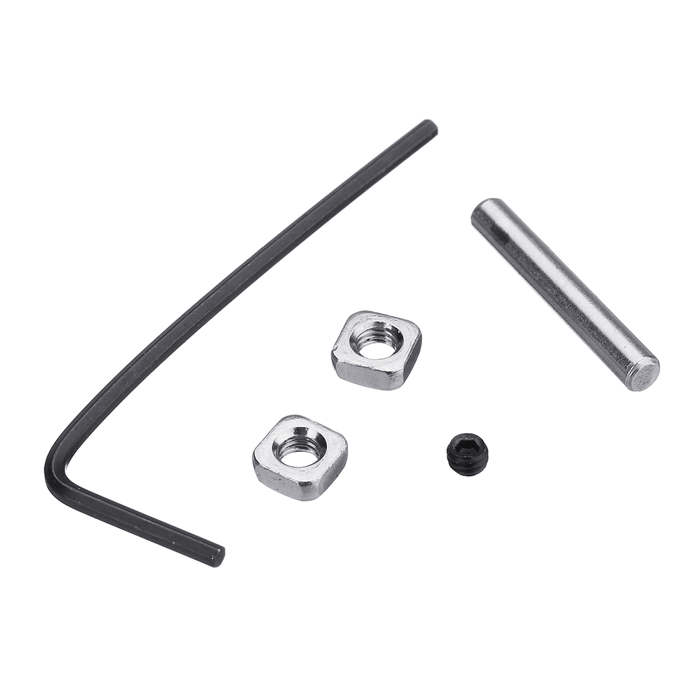 1Set DIY Prusa i3 MK2/MK3 Dual Gears Steel Pulley Kit For 3D Printer Gears  Extrusion Wheel Part