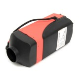 HCalory 4KW 12V Knob Parking Car Heater With 3 Way 2 Tube 2 Air Outlet Silencer
