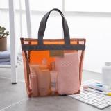 Women Solid Portable Travel Bag Wash Bag Storage Bag Outdoor Beach Bag Handbag