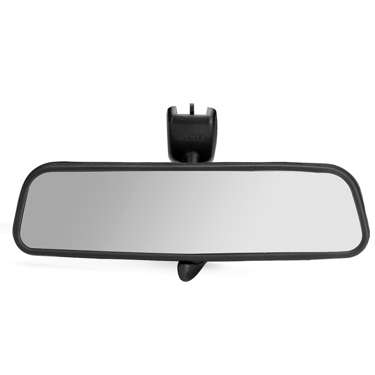 Universal 260mm Wide Flat Car Truck Mirror Interior Rear View Mirror Suction