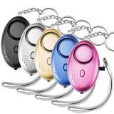 XANES ZQ-032 130db Emergency Self Defense Personal Security Alarm Keychain Light Flashlight