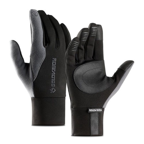 Winter Warm Full Finger Waterproof Touch Screen Cycling Racing Motorcycle Gloves