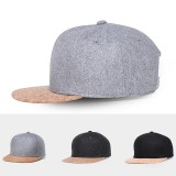 NUZADA Cotton Baseball Cap Unisex Hip-Hop Hat Adjustable Flat Brim Men Women Cycling Hat