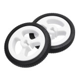 One Pair 34mm Wheels for N20 Motor Arduino Smart Robot Car