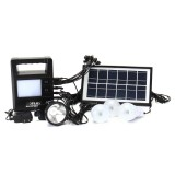 Portable Solar Panel Generator Charging Solar Powered System Home Generator System Kit