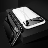 Bakeey Protective Case for iPhone XS Max 6.5″ Tempered Glass Lens Protection+PC Glossy Back Cover