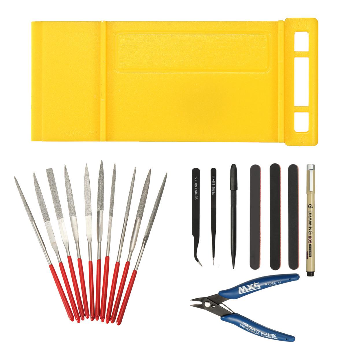 DIY Basic Tools Craft Set Car Model Building Repair Kit For Gundam Modeler  Tools Kit