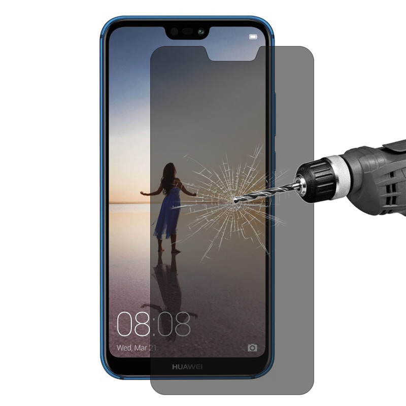 Enkay Anti-spy 9H Anti-explosion Tempered Glass Screen Protector for Huawei P20 Lite nova 3e