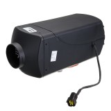 12V Upgraded Parking Heater 3 Way 2 Tube 2 Air Outlet Car Heater With Silencer