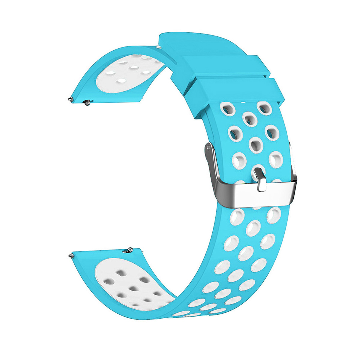 KALOAD Silicone Replacement Breathable Watch Strap Band Belt For Fitbit Versa Smart Watch