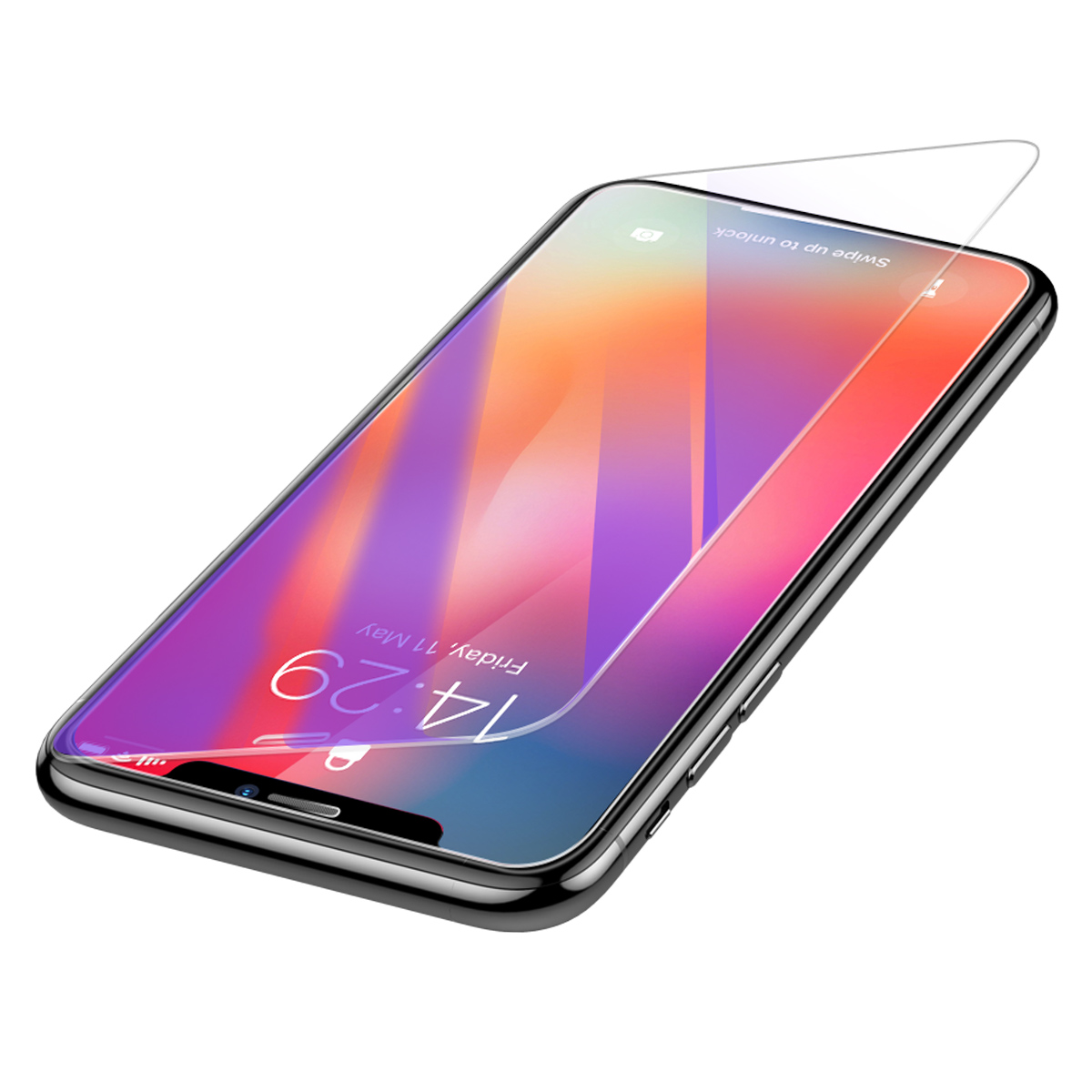 Baseus 0 3mm Clear Anti Blue Light Ray Full Tempered Glass