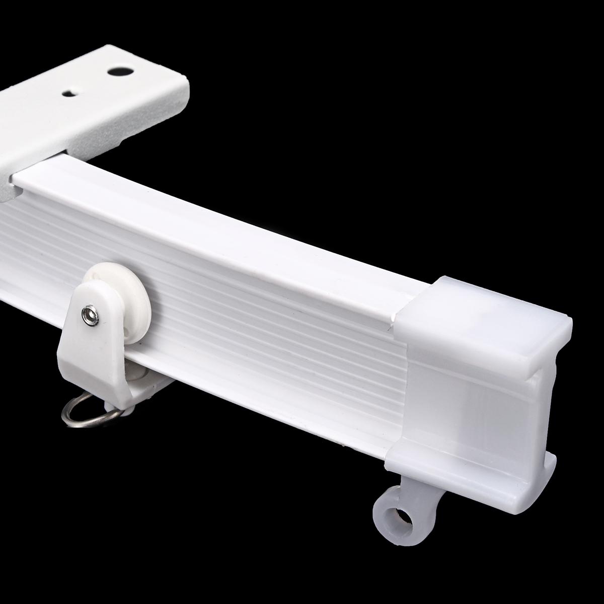 3M//5M Cuttable Bendable Curtain Track Rail for Straight Bay Windows Caravan