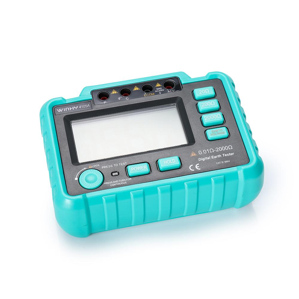 4105A Dust Moisture Proof Resistance Multimeter Grounding Resistance Meter Current AC Voltage Meter