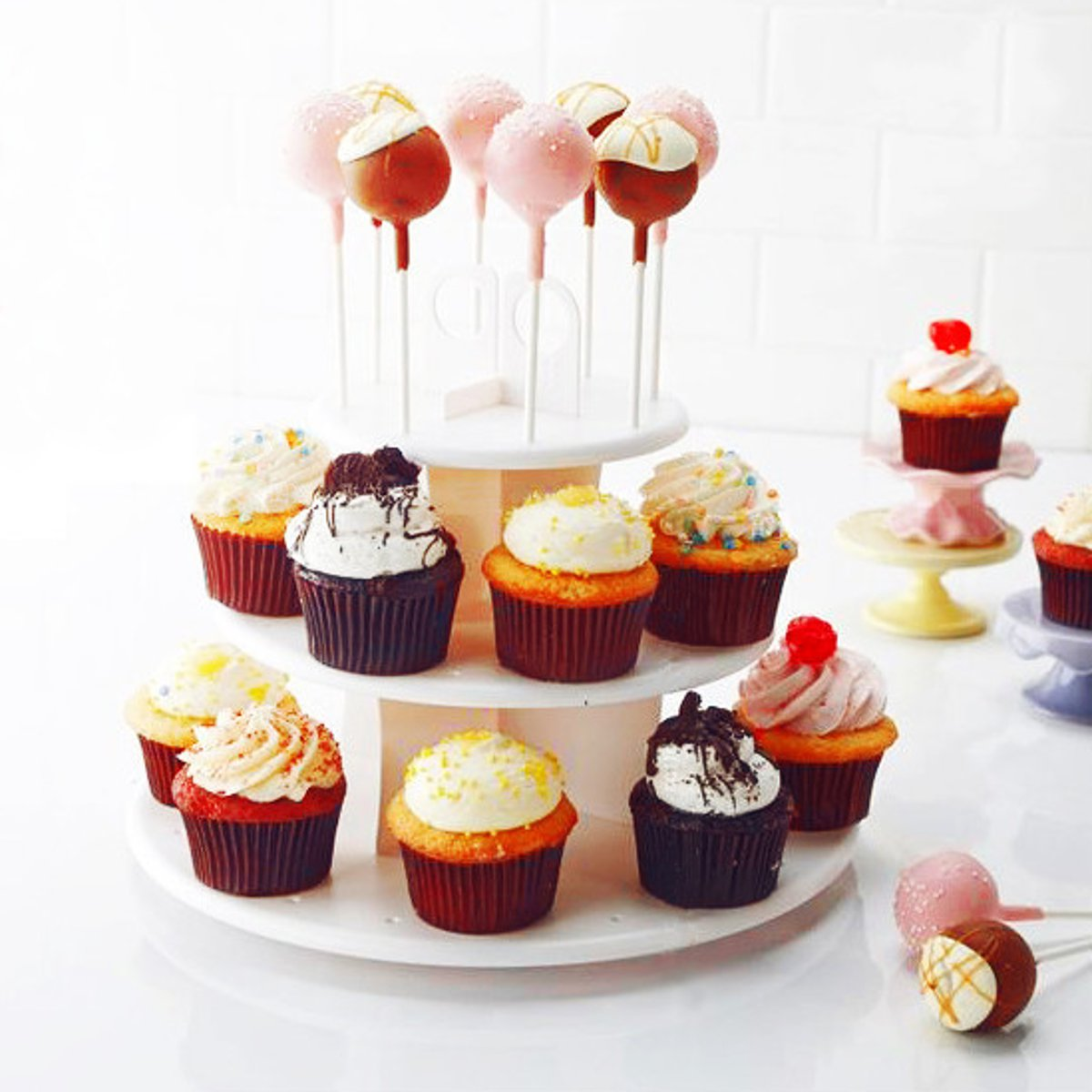 Sweet,special ocaision Round 3 Tier Lolly Pop Stand birthdays wedding Party