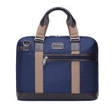 Ekphero Men Vintage Waterproof Business Casual Laptop Bag Handbag Briefcase Crossbody Bag