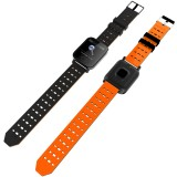 A6 1.3 inch IPS Color Screen Smart Watch IP67 Waterproof, Support Message Reminder / Heart Rate Monitor / Blood Oxygen Monitoring / Blood Pressure Monitoring/ Sleeping Monitoring (Orange)