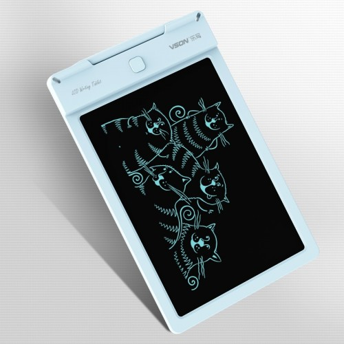 WP9310 9 inch LCD Monochrome Screen Writing Tablet Handwriting Drawing Sketching Graffiti Scribble Doodle Board or Home Office Writing Drawing (Blue)
