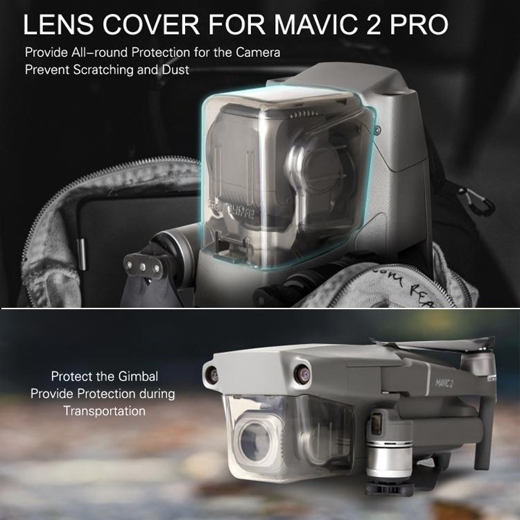 Camera Lens Protective Hood Sunshade Gimbal Cover for DJI MAVIC 2 Pro