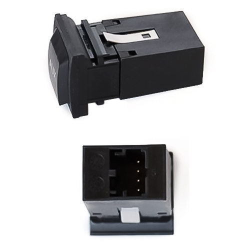 Car RCD310/510 AUX Adapter Switch Plug for Volkswagen Golf 6 / Sagitar / Scirocco / MAGOTAN / Bora / Tiguan / Touran