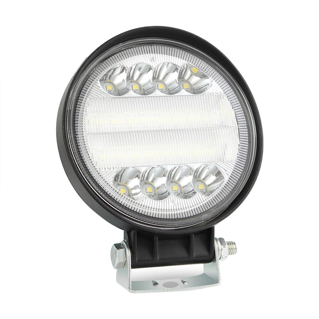 Spot Lights Flood Lights: 2 PCS 4 Inch 15W Spot / Flood Light White Light Round