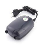 RS-390 220V 5W Double Outlets Adjustable Flow Silent Aquarium Air Pump Fish Tank Oxygen Air Pump