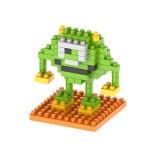 Robot Cartoon Assembled Children DIY Enlightenment Assembled Building Blocks Educational Intelligence Toy