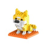 Dog Cartoon Assembled Children DIY Enlightenment Assembled Building Blocks Educational Intelligence Toy