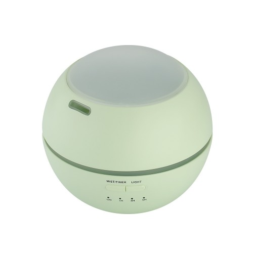 Ultrasonic Essential Oil Diffuser Aromatherapy Aroma Diffuser Humidifier with Colorful LED Atmosphere Light for Office, Home Bedroom, Capacity: 150ml (Green)