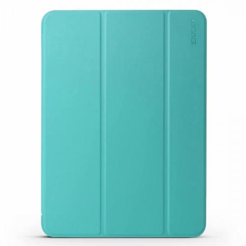 ENKAY Lambskin Texture + TPU Bottom Case Horizontal Flip Leather Case for iPad Pro 11 inch (2018) with Three-folding Holder & Sleep / Wake-up Function (Green)