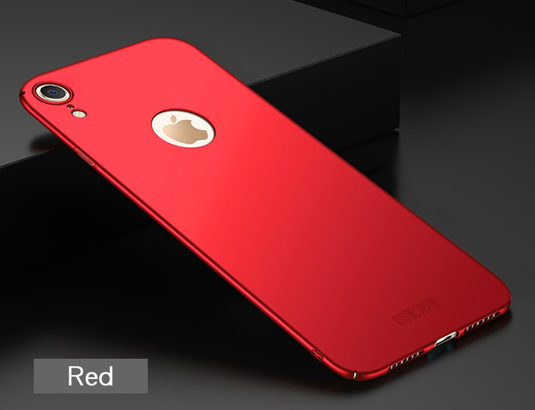Iphone Xr Red Light Water Indicator: MOFI Frosted PC Ultra-thin Full Coverage Case For IPhone