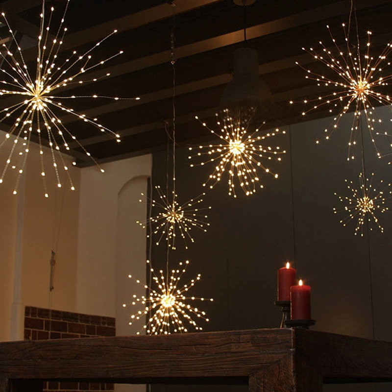 Fireworks Copper Wire Led String Light