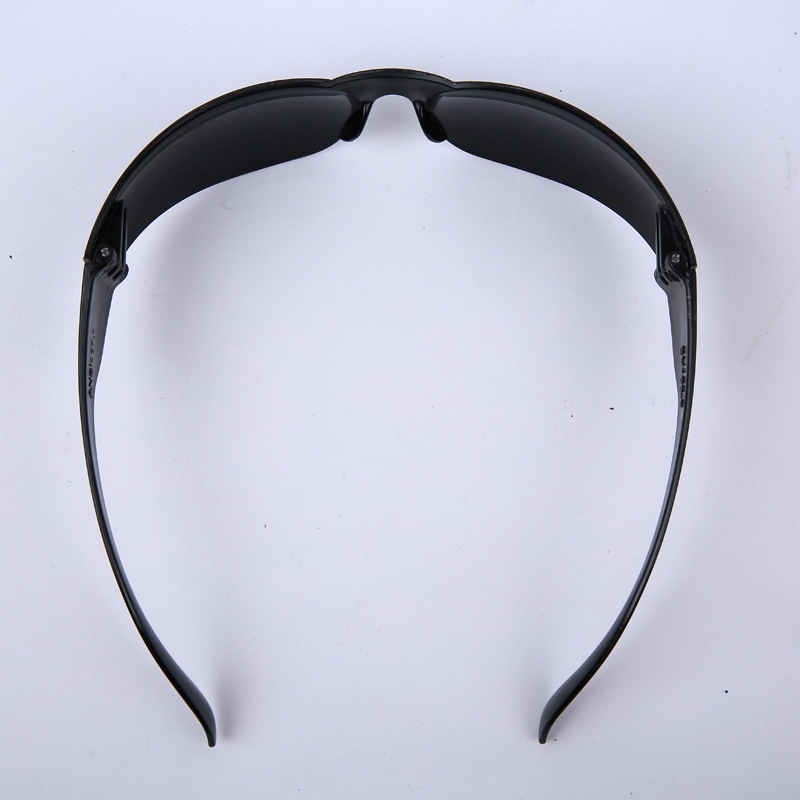 Anti Glare Working Protective Glasses Welding Protective Goggles (Black)