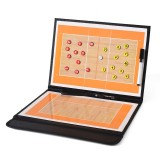 Volleyball Coach Board Tactical Plate Handball Coaching Sets Volley Ball Equipment Training Magnetic Grains & Pen