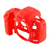 PULUZ Soft Silicone Protective Case for Canon EOS 5D Mark III / 5D3 (Red)