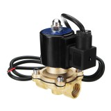 1/2″ AC 220V Waterproof Brass Electric Solenoid Valve Music Water Fountain Valve