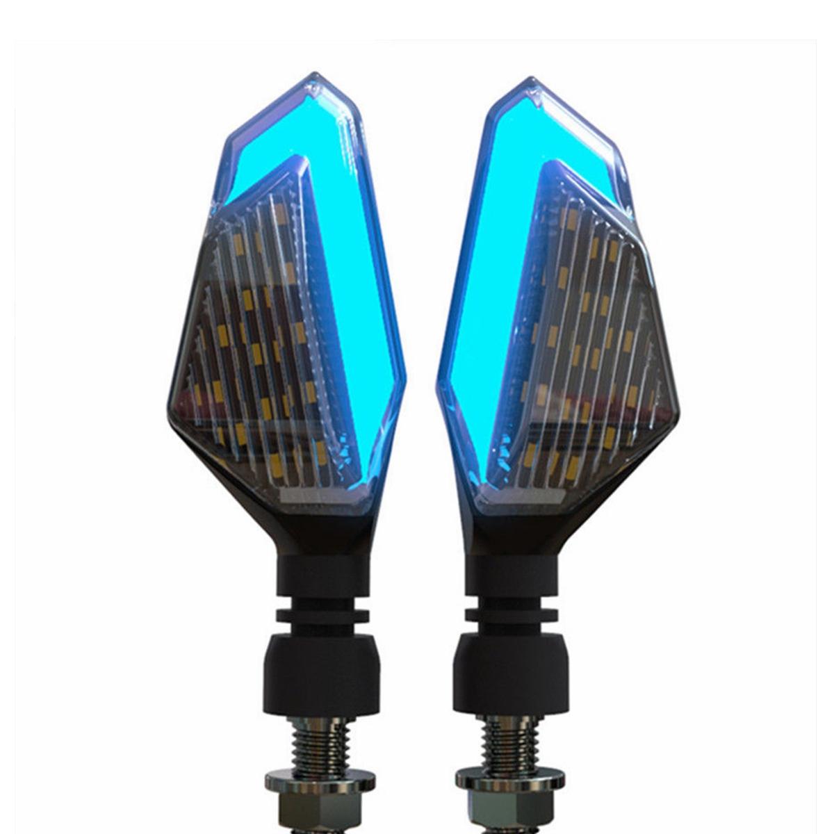 12v Motorcycle Led Turn Signal Lights Running Daytime