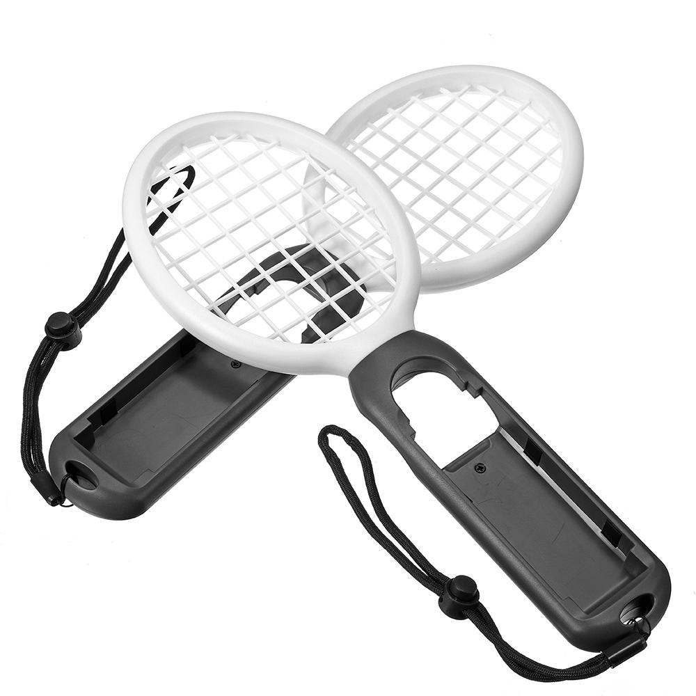 1 Pair Tennis Gamepad ABS Game Controller Sport Games Grip Tennis Racket Exercise Equipment