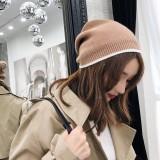 Men Women Plus Size Winter Warm Earmuffs Knit Hat Casual Thicken Skull Caps Beanie