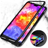 Bakeey 360 Magnetic Adsorption Metal Tempered Glass Protective Case for Huawei P20/P20 Lite/P20 Pro