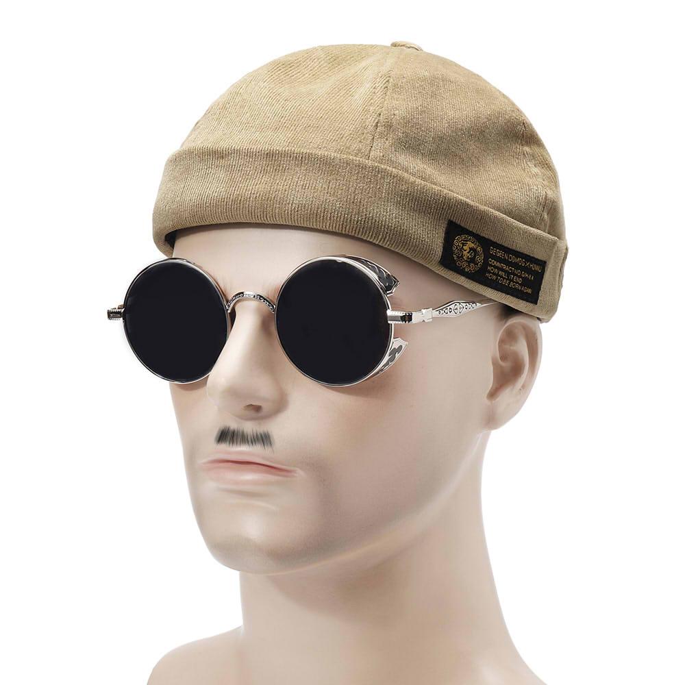 Mens Corduroy Adjustable Solid French Brimless Hat Vogue Retro Skullcap  Sailor Cap · a7be5750-e034-4942-ac28-0865690bf5d6.jpg ... 056fd641aceb