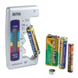 AA AAA 1.5V 9V Digital Battery Tester Universal Battery Capacity Tester Lithium Battery Power Suppl
